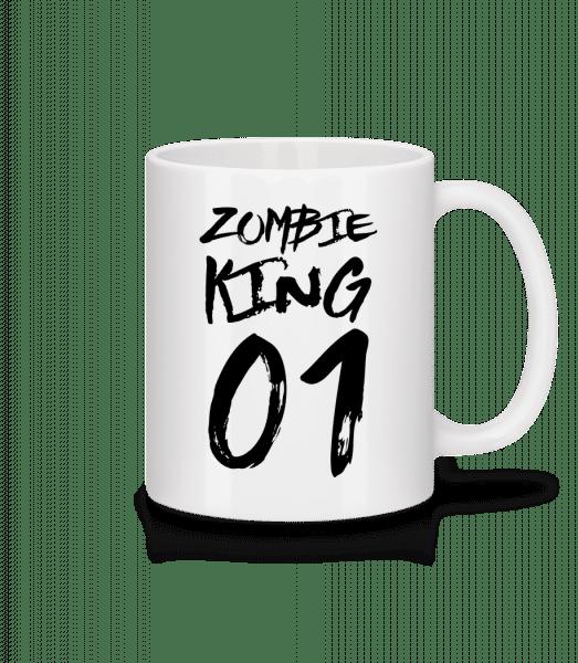 Zombie King - Mug - White - Vorn