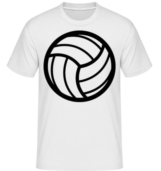 Volleyball -  Shirtinator Men's T-Shirt - White - Front