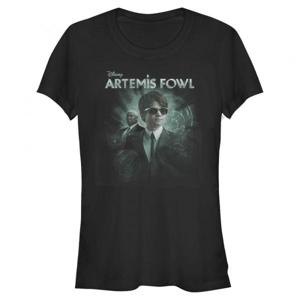 Smart Artemis - Disney Artemis Fowl - Women's T-Shirt - Black - Front