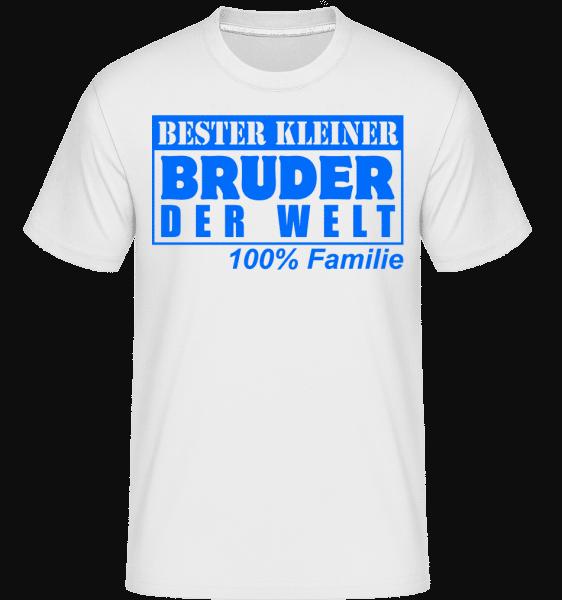 Bester Kleiner Bruder - Shirtinator Männer T-Shirt - Weiß - Vorn