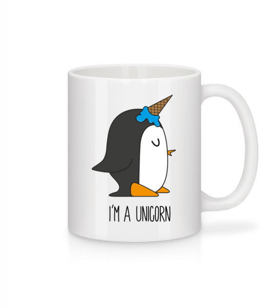 I'm A Unicorn Penguin - Mug - White - Front