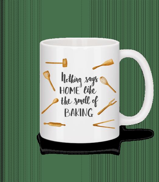 The Smell Of Baking - Mug - White - Vorn
