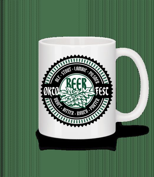Oktoberfest Beer - Tasse - Weiß - Vorn