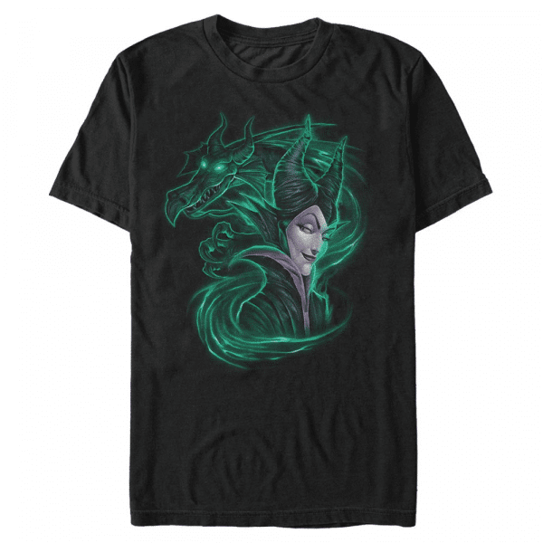 Dark Magic Maleficent - Disney Sleeping Beauty - Men's T-Shirt - Black - Front