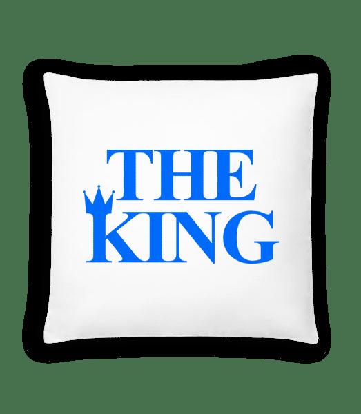 The King Blue - Cushion - White - Vorn