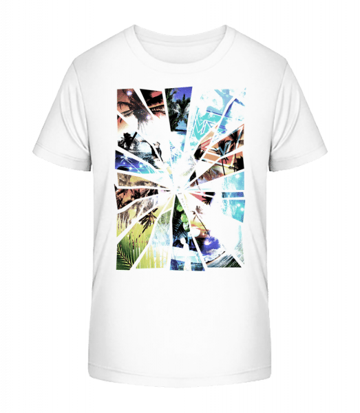 Holiday Splinter - Kid's Premium Bio T-Shirt - White - Vorn