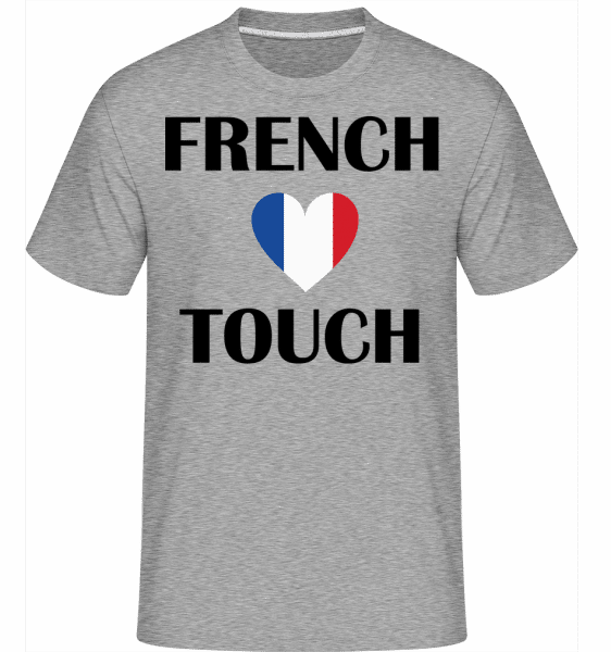 French Touch -  Shirtinator Men's T-Shirt - Heather grey - Vorn