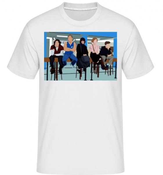 The Breakfast Club -  Shirtinator Men's T-Shirt - White - Front