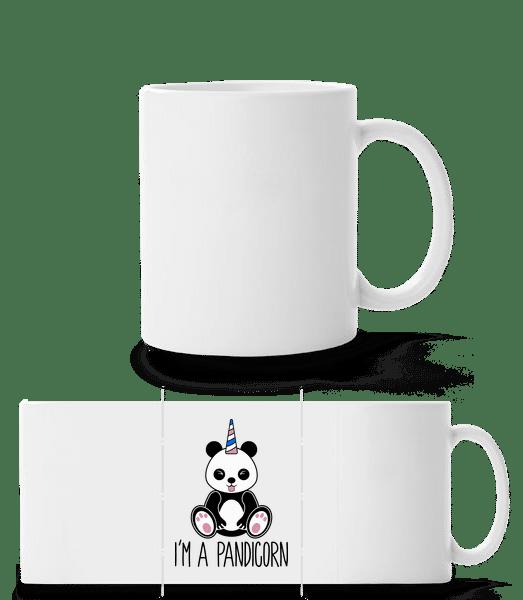 I'm A Pandicorn - Panorama Mug - White - Front