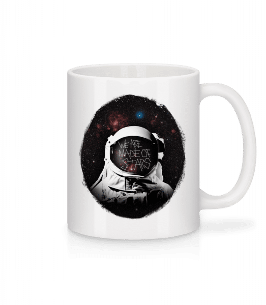 We Are Made Of Stars - Mug - White - Front