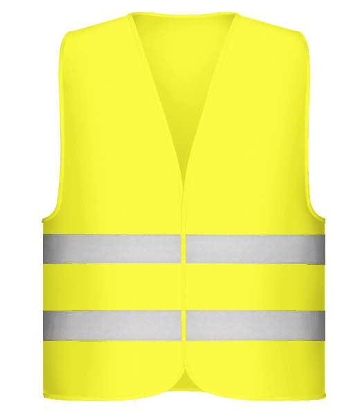 Safety Vest - Neon yellow - Vorn