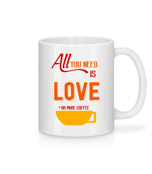 Love Or More Coffee - Mug - White - Front