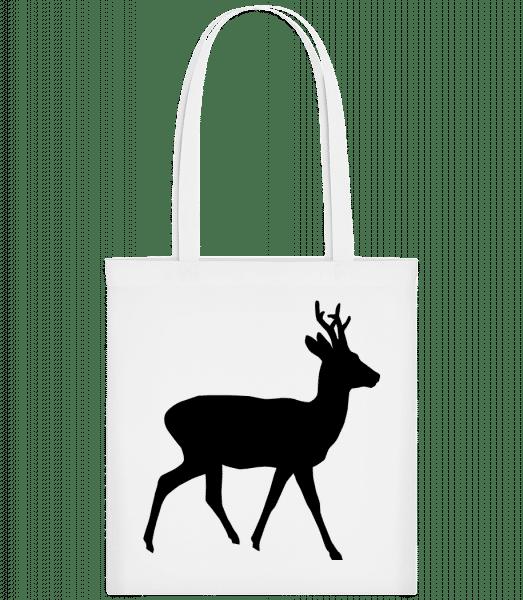 Silhouette Deer - Taška Carrier - Bílá - Napřed