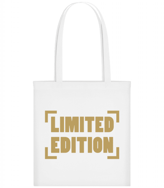 Limited Edition - Carrier Bag - White - Vorn