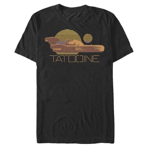 Speeder Badge - Star Wars - Men's T-Shirt - Black - Front