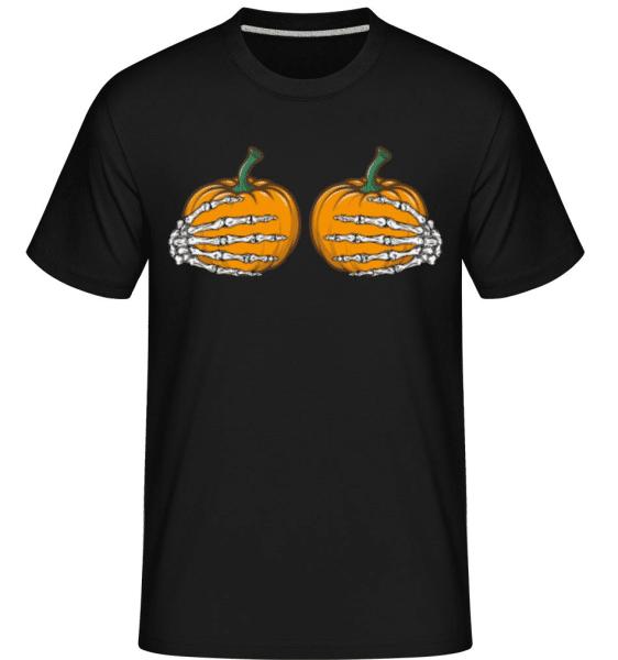 Boobkin -  Shirtinator Men's T-Shirt - Black - Front