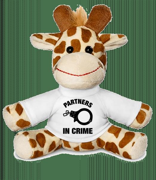 Partners In Crime - Giraffe - White - Vorn