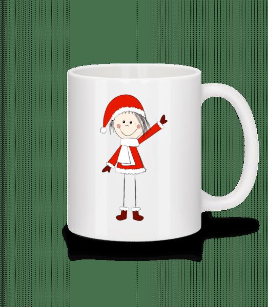 Christmas Girl - Mug - White - Vorn