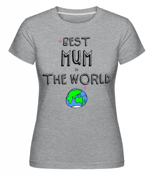 Shirtinator Women's T-Shirt - Heather grey - Front
