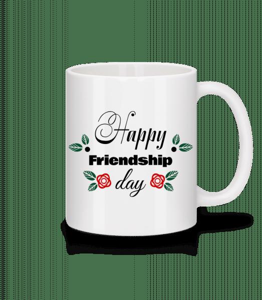 Happy Friendship Day - Mug - White - Vorn
