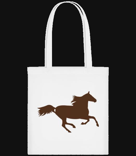 Horse - Carrier Bag - White - Vorn