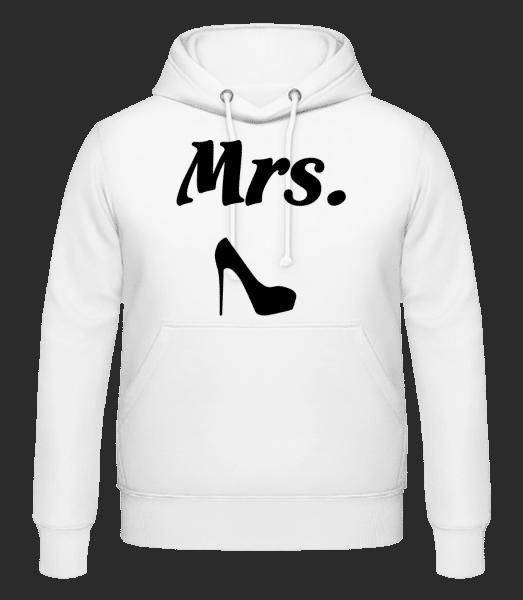Mrs. Wedding - Men's Hoodie - White - Vorn