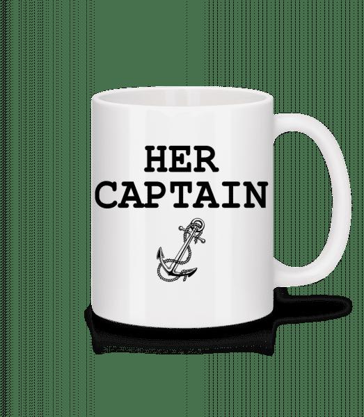 Her Captain - Tasse - Weiß - Vorn