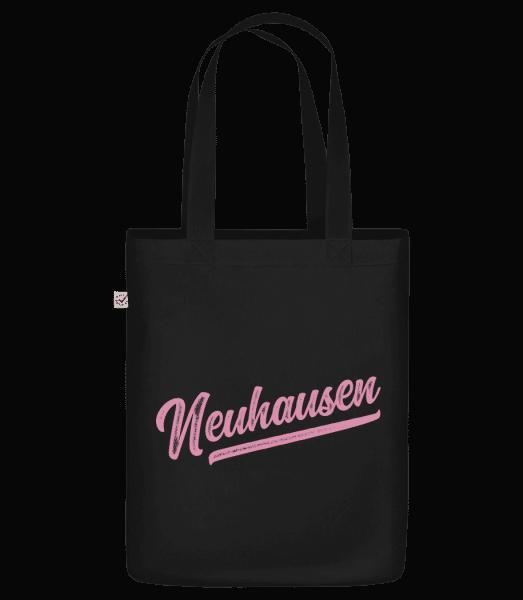 Neuhausen Swoosh - Bio Tasche - Schwarz - Vorn