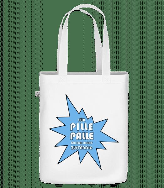 Pille Palle - Bio Tasche - Weiß - Vorn