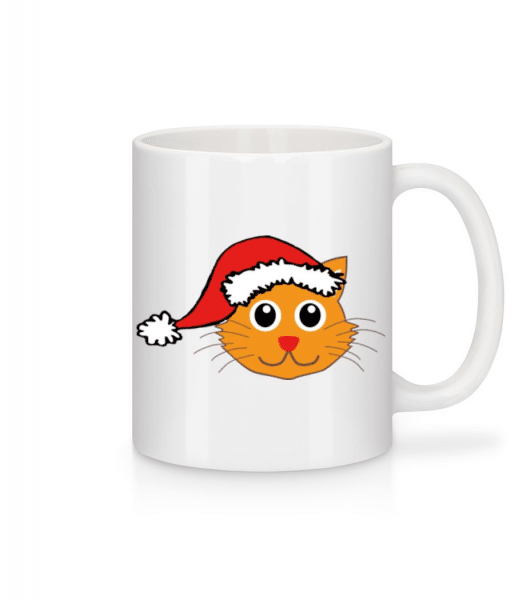 Santa Cat - Mug - White - Front