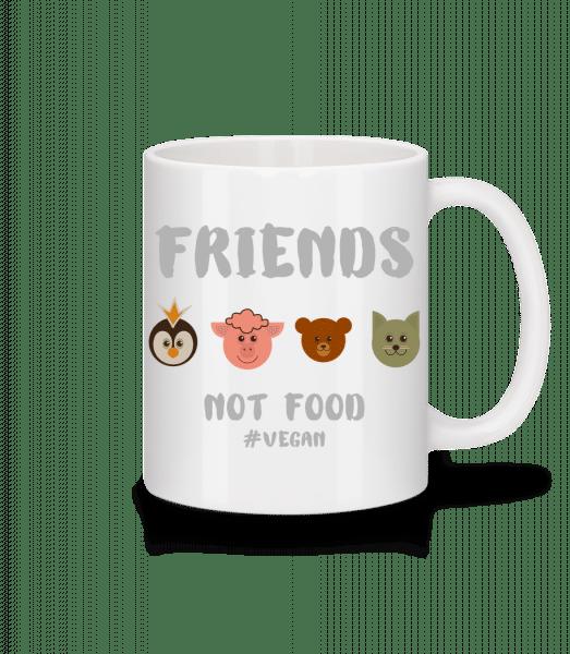 Friends Not Food - Mug - White - Vorn