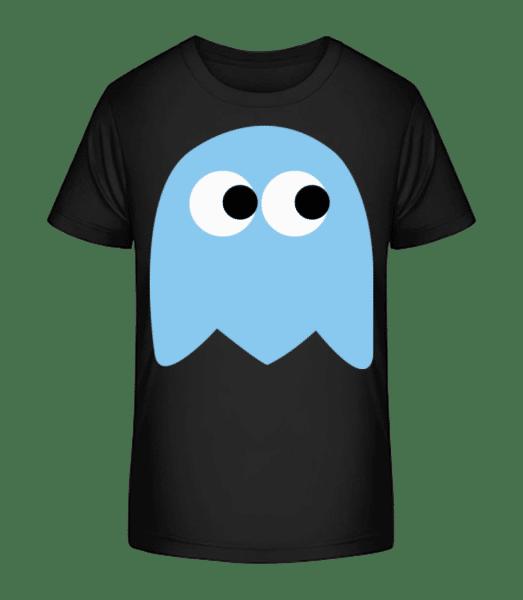 Computer Game Monster - Kid's Premium Bio T-Shirt - Black - Vorn