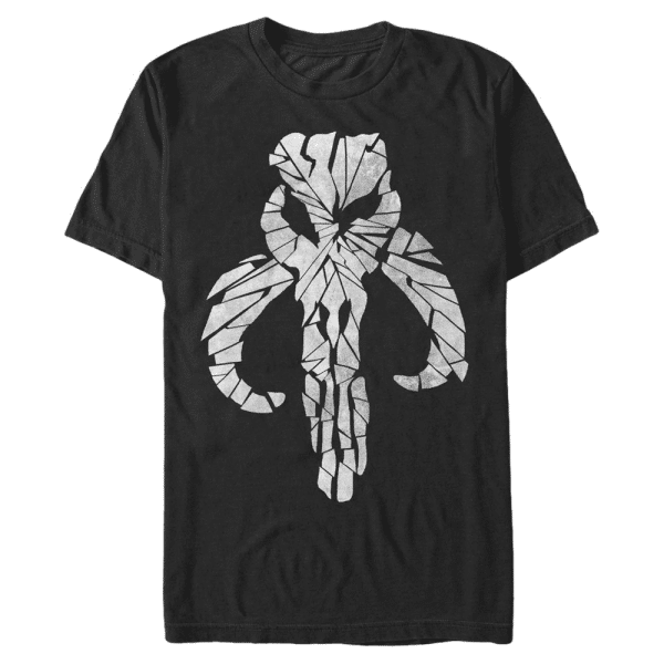 Mandelorian Mandalore - Star Wars - Men's T-Shirt - Black - Front