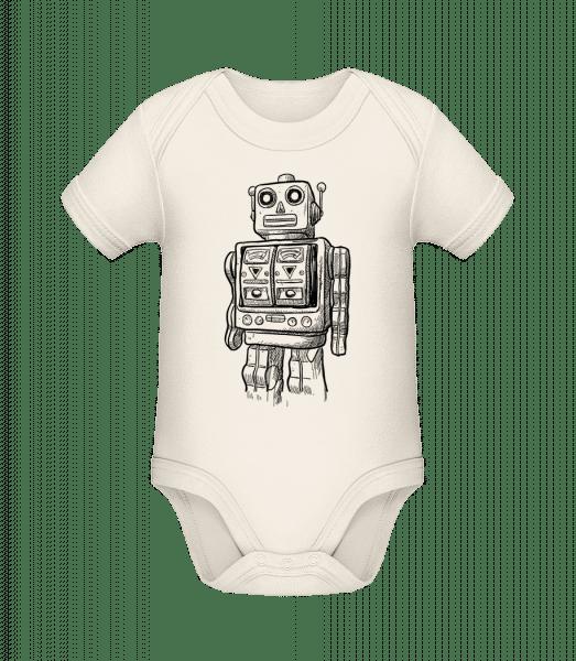 Baby Robot - Organic Baby Body - Cream - Vorn