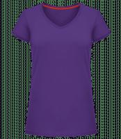 Frauen T-Shirt V-Ausschnitt