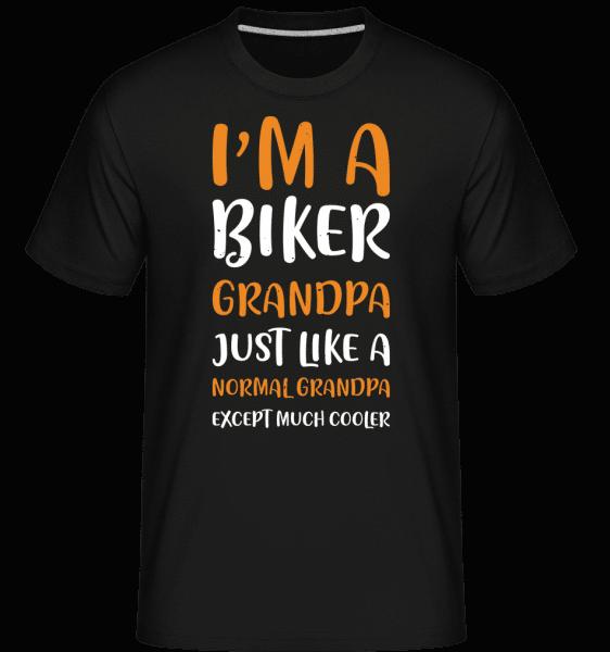 I'm Biker Grandpa -  Shirtinator Men's T-Shirt - Black - Vorn