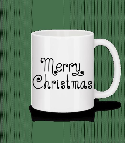 Merry Christmas - Mug - White - Vorn