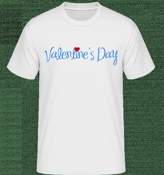 Valentine's Day -  Shirtinator Men's T-Shirt - White - Vorn