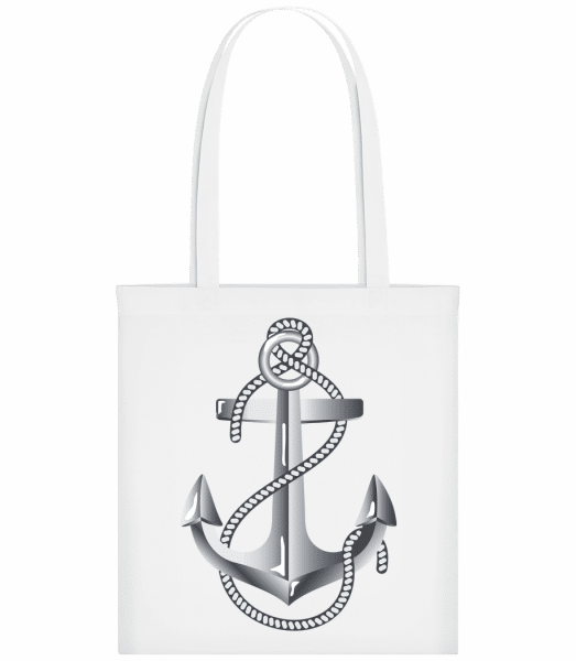 Anchor Rope Comic Silver - Sac tote - Blanc - Vorn
