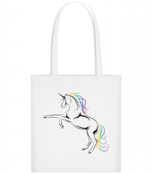 Unicorn - Carrier Bag - White - Vorn