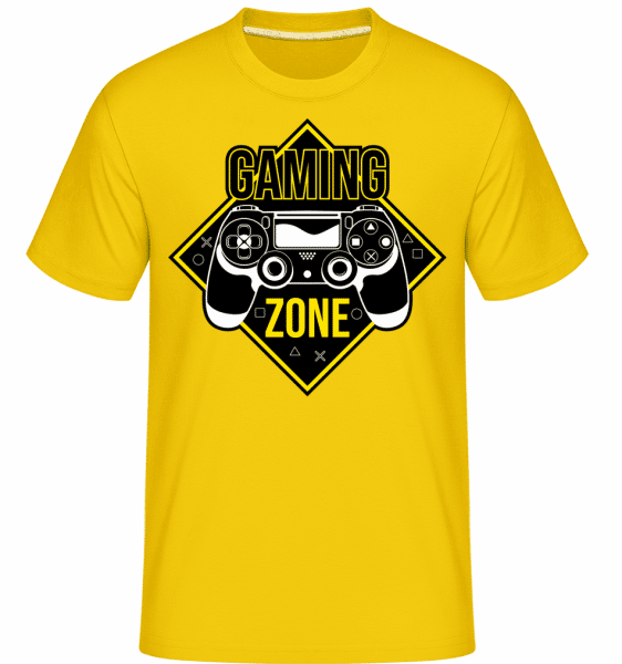 Gaming Zone -  Shirtinator Men's T-Shirt - Golden yellow - Front