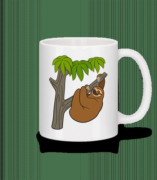 Sloth On The Tree - Mug - White - Vorn
