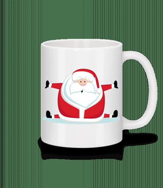 Santa Claus Splits - Mug - White - Vorn