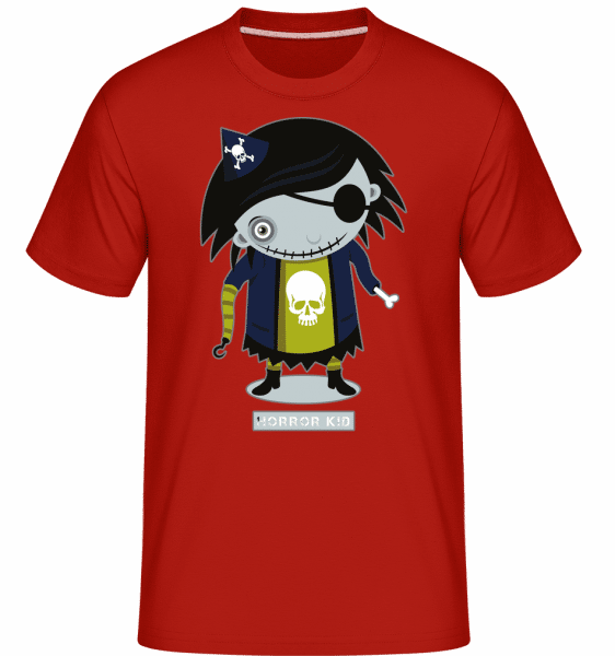 Horror Kid -  Shirtinator Men's T-Shirt - Red - Vorn