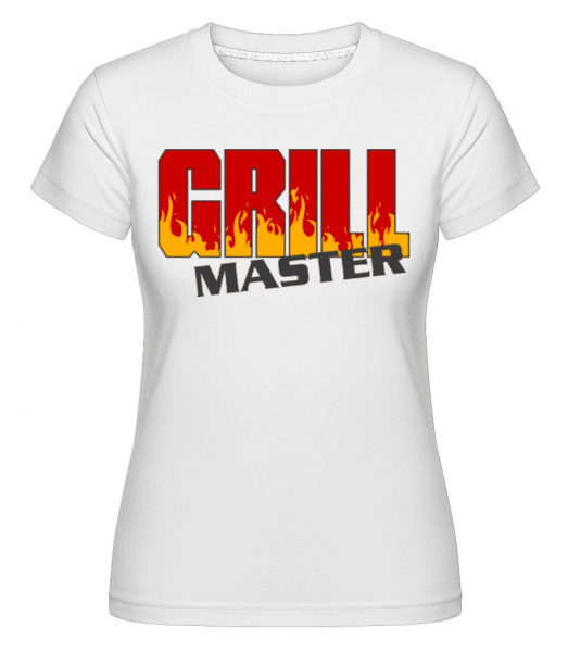 Grill Master -  Shirtinator Women's T-Shirt - White - Front