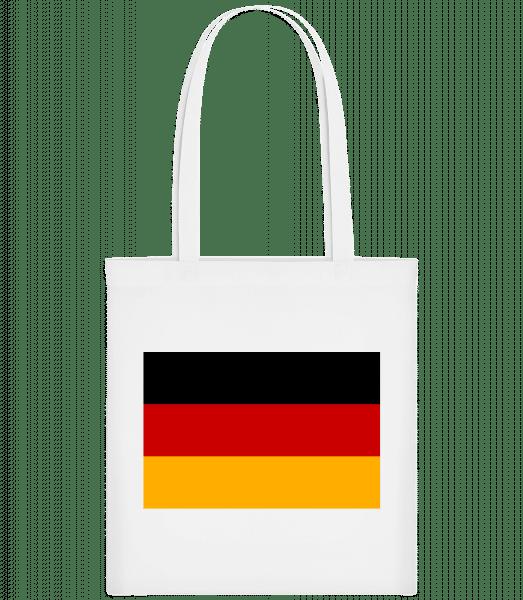 Flag Germany - Carrier Bag - White - Vorn