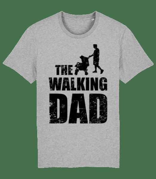 The Walking Dad - Men's Premium Organic T-Shirt Stanley Stella - Heather grey - Front