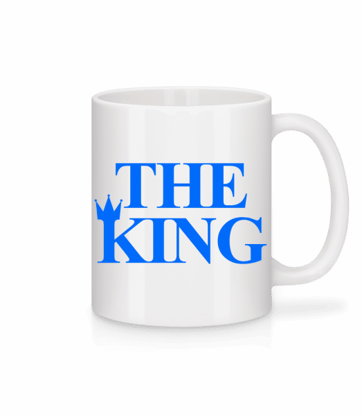 The King Blue - Tasse - Weiß - Vorn