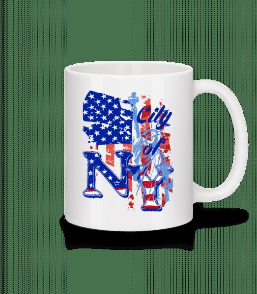 City Of NY - Mug - White - Front