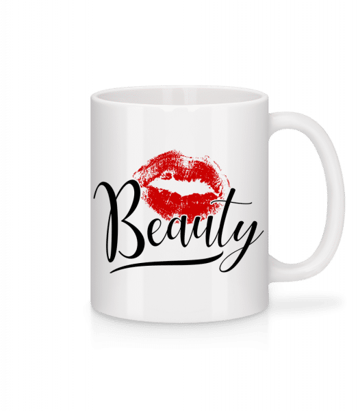 Beauty Kissing Mouth - Mug - White - Vorn